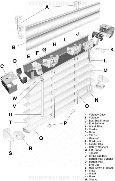 mini blind repair 46 best blind repair diagrams visuals images on blind repair shades and blinds