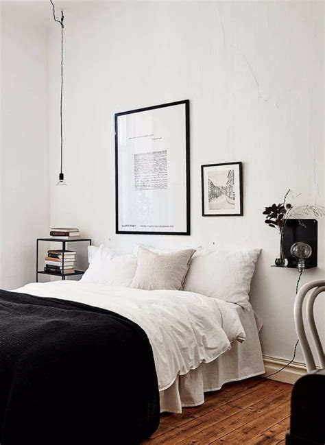 how to decorate your room in black and white master