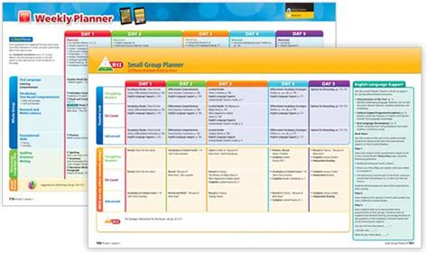 Program Planner by Journeys Reading Program And Curriculum Hmh