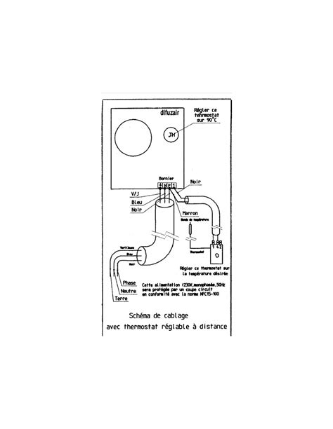 recuperateur air chaud cheminee thermostat 224 distance nather difuzair pour r 233 cup 233 rateur