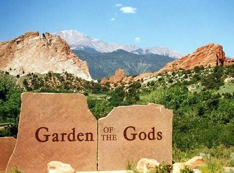 Garden Of The Gods Usa Garden Of The Gods Usa Great Panorama Picture