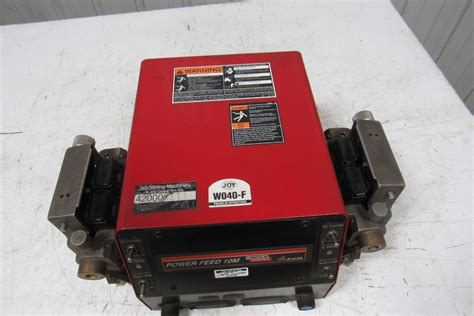 lincoln electric wire feeder lincoln electric power feed 10m 11194 dual wire feeder