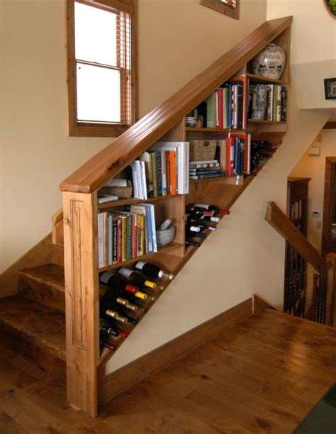 the 25 best ideas about staircase bookshelf on