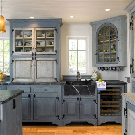 Blue Kitchens by Swedish Inspired Farmhouse Kitchen Philadelphia By