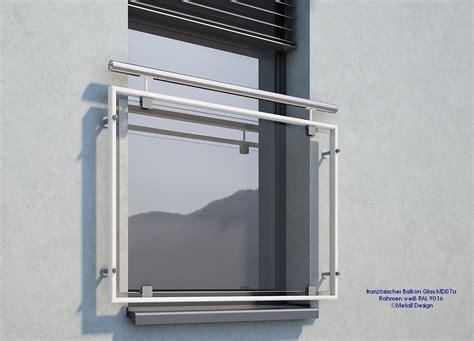 französischer balkon glas franz 246 sischer balkon glas md07ap wei 223 ral 9016 deutschland