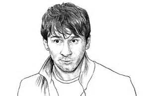 Fuentes De Informaci&243n Los Mejores Dibujos Messi Y Cristiano Template sketch template