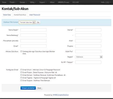web layout adalah group yang terdapat dalam tab edit account pada member area desainweb com tutorial web