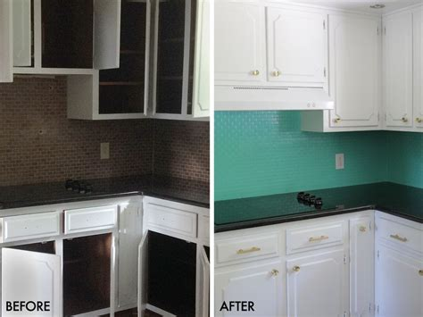 painting kitchen tile backsplash how to paint a tile backsplash a beautiful mess
