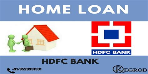 bank loan for housing home loan by hdfc bank