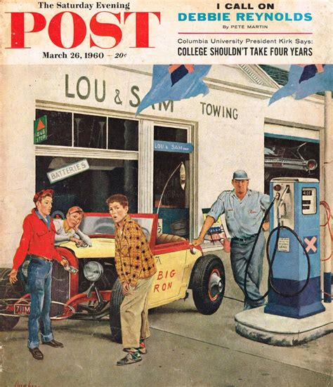March 1960 Cover of The Saturday Evening Post Photo Picture