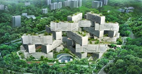 Apartment S Park Singapore Oma S Jenga Like Interlace Luxury Apartments Near
