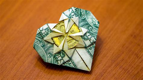 Money Origami Tutorial - origami how to fold a money origami fold money into