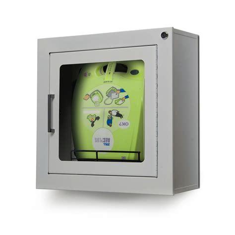 wandschrank 10 zoll standard wandschrank f 252 r zoll defibrillatoren aed plus