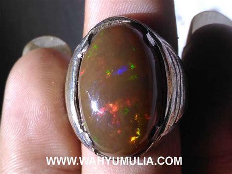 Kalimaya Banten Opal batu cincin kalimaya opal banten kode 371 wahyu mulia