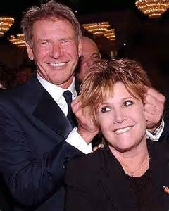 Harrison Ford Carrie Fisher Harrison Ford And Carrie Fisher Photogenic
