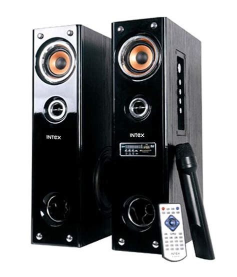 Bluetooth Device For Home Theater by Buy Intex It 5500suf Tower Speaker Online At Best Price In
