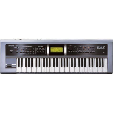 Keyboard Arranger Roland Midi roland gw 7 61 key arranger workstation usb midi