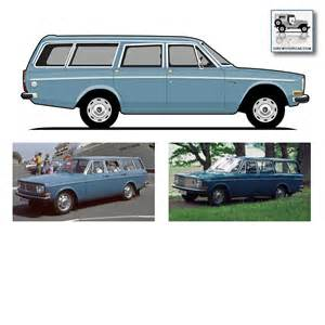 Volvo 1960s Models Model 140 Series I Drew Your Car