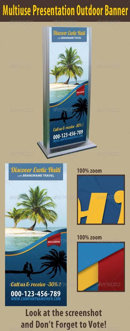 graphicriver multiuse presentation outdoor banner template