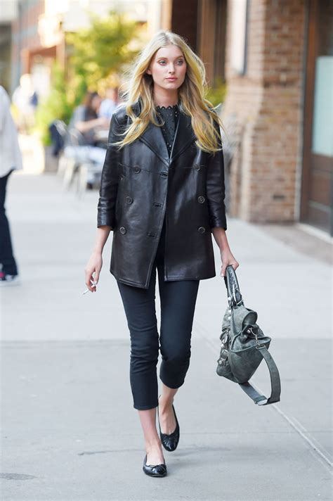 elsa hosk style out in new york city may 2015