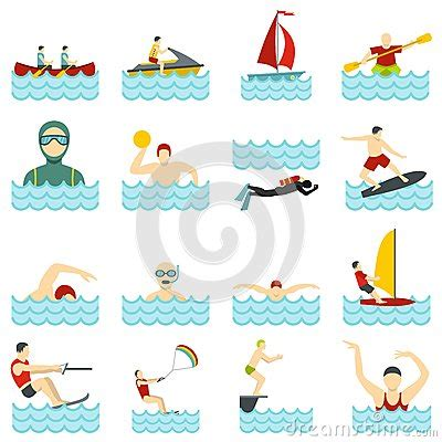 Mr Acrysion Water Based N11 Flat White Mr Hobby water sport set flat icons stock vector image 87552224