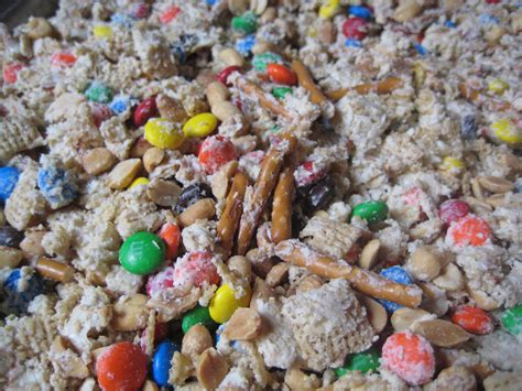 White Chocolate Chex Mix white trash ? Simply Sifted