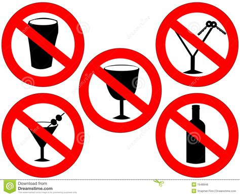 cartoon no alcohol prohibition sign no drink driving cartoon vector