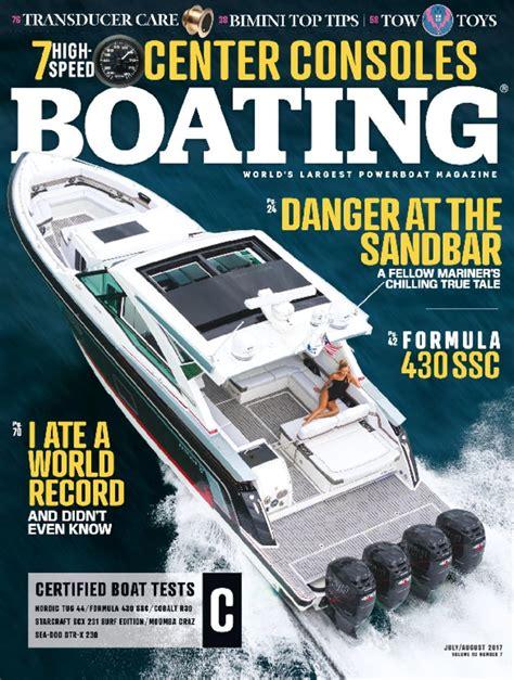 boating magazine cover price boating magazine the world s largest powerboat magazine