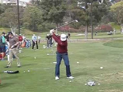 ryan moore swing ryan moore golf swing face on 2014 northern trust open