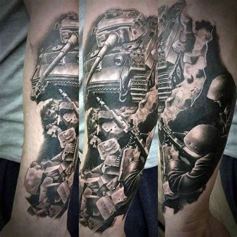 military tattoos for men 90 army tattoos for manly armed forces design ideas