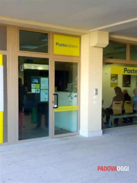 ufficio postale vigonza poste italiane marco siracusano nuovo responsabile