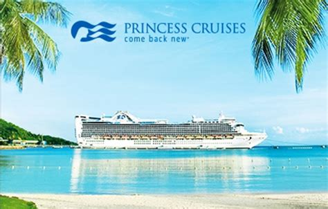 Princess Cruise Gift Card - travel gift cards gift ideas for travelers ngc