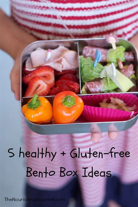 Healthy Giveaway Ideas - 5 healthy bento boxes for kids gluten free sandwich free giveaway
