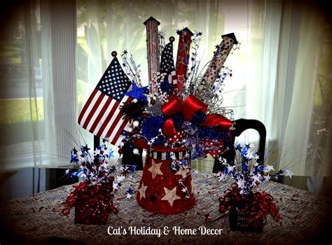 fourth of july centerpieces 4th of july table decor my door decor more