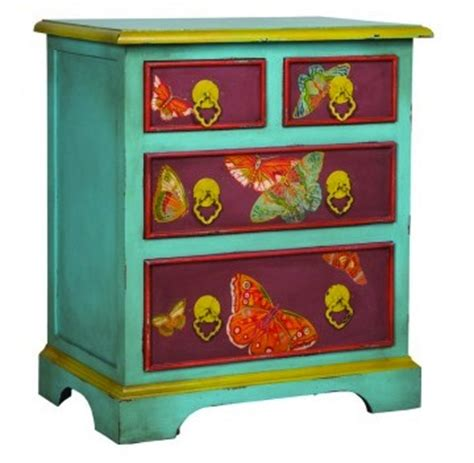colorful dressers painted dressers to use in the nursery