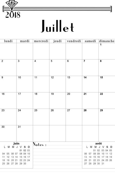 Juillet 2018 calendrier (4)   Download 2019 Calendar