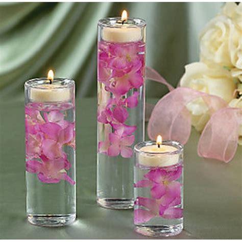 set of 3 glass cylinder tealight holder ceremony vase