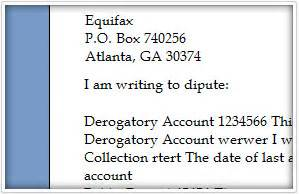 Free Credit Repair Letters Templates by Credit Dispute Letter Management And Credit Repair Letter