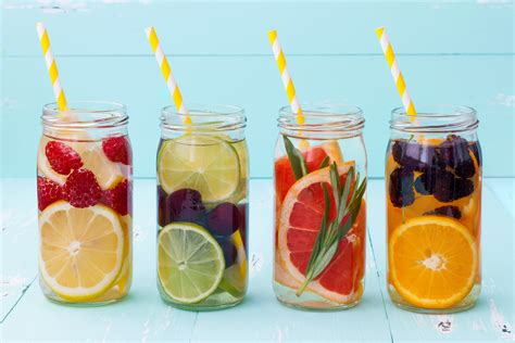What Fruit Are In Water To Drink And Detox by 4 Fruit Infused Water Recipes