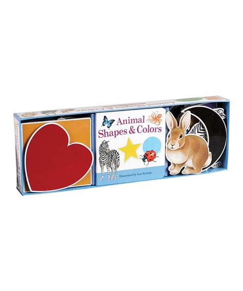 Set Isi 3 Board Book Animal baker publishing animal shapes colors board book set zulily chest