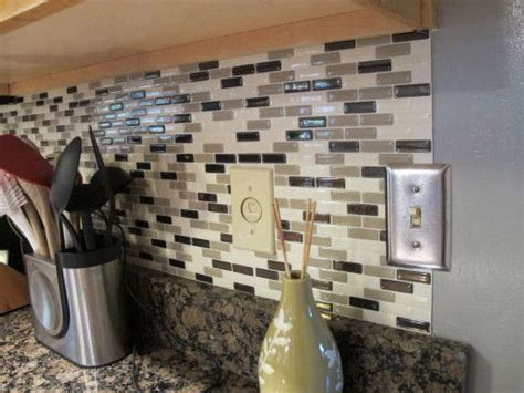 peel and stick backsplash ideas for your kitchen lakes