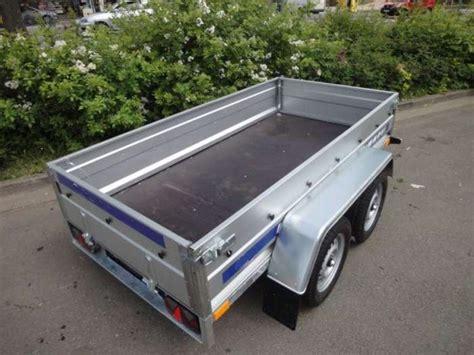 Gesamtgewicht Auto by Pkw Anh 228 Nger Mit Tandemachse 750 Kg Gesamtgewicht