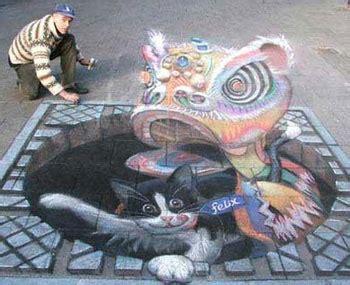 imagenes en 3d en el piso dibujos 3d en el suelo esto es arte megapost julian