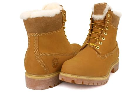 timberland boots with fur s timberland 6 waterproof fur lined boot wheat