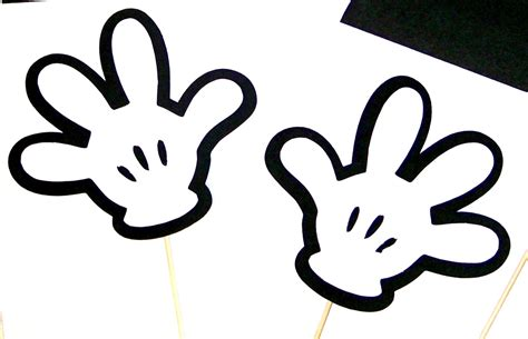 photo booth props disney mickey minnie mouse by
