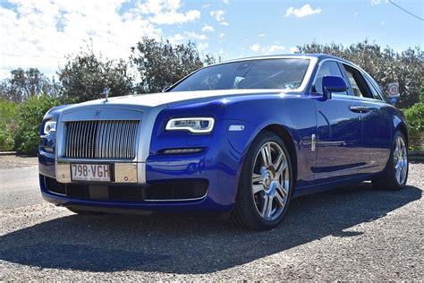 roll royce ghost blue behind the wheel rolls royce ghost series ii