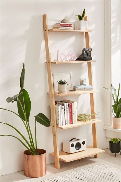 Leaning Bookshelf   Urban Outfitters