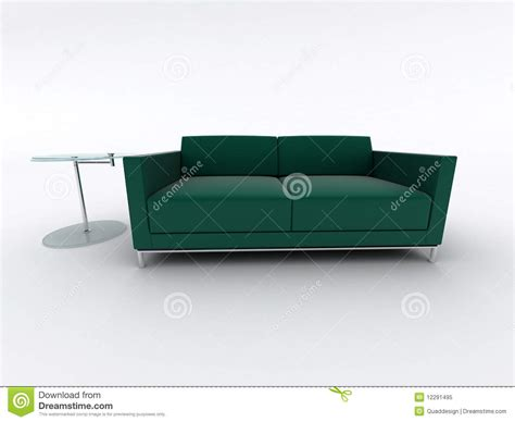green sofa table green sofa and table royalty free stock photo image