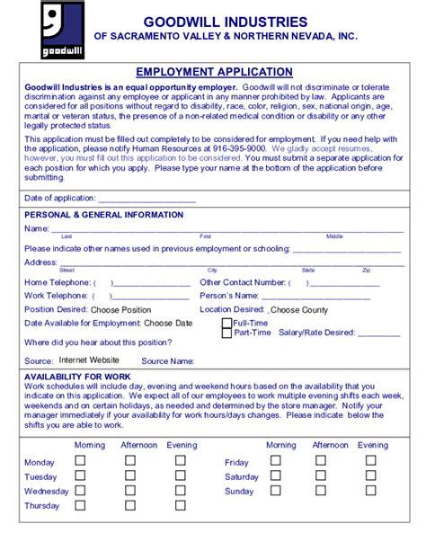 its fashion metro printable job application free printable goodwill job application form