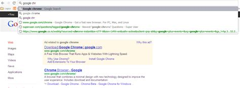 Search In Address Bar Chrome Not Working Chrome Opens A Blank Page When Searching From Chrome Omnibox Address Bar